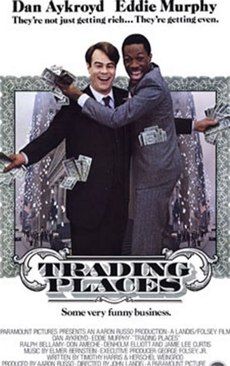 trading places cast vintage movies theater and entertainment ads of the 1980s