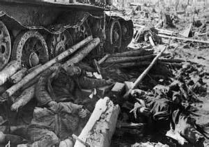 Both sides lost heavily at kursk this soviet tank crew fell foul of a