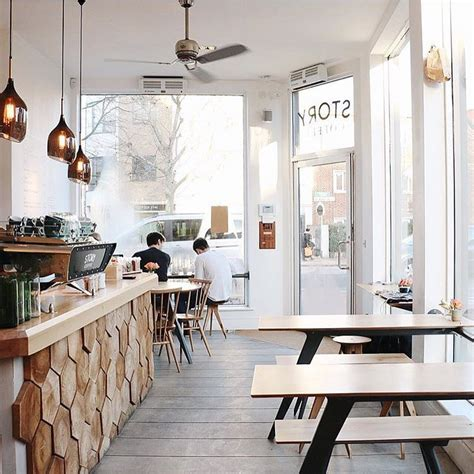 cafe interior design london coffeeshop goals story coffee st john s hill london