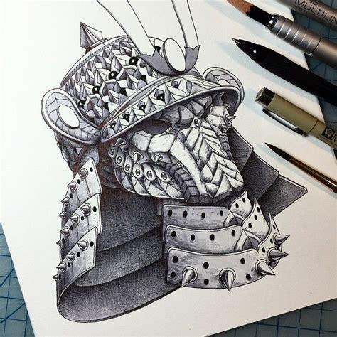 helm design studio quot samurai helm quot tattoo design of a modify predator mask