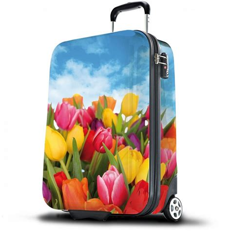 suitsuit tulips hard shell abs 3 piece luggage set 20