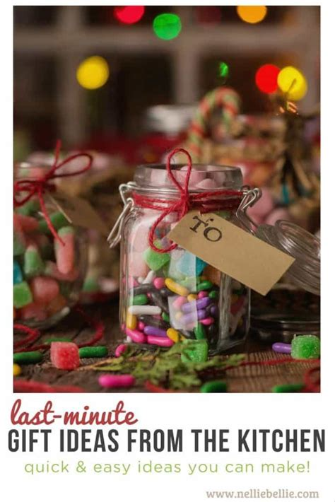 gift ideas for the kitchen last minute diy gift ideas from the kitchen nelliebellie