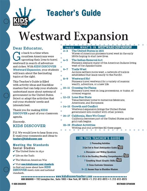 Westward Expansion Essay Prompts by Westward Expansion Discover