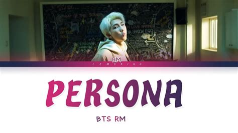 map   soul persona bts rm