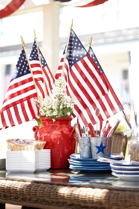 5 Great 4th Of July Ideas by 12 Easy Patriotic Centerpiece Ideas Cheap July 4th