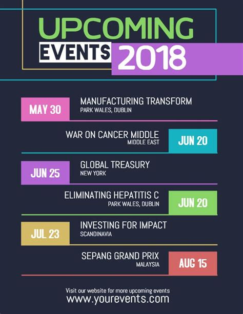 55 Best Event Flyer Templates Images On Pinterest Upcoming Events Flyer Template