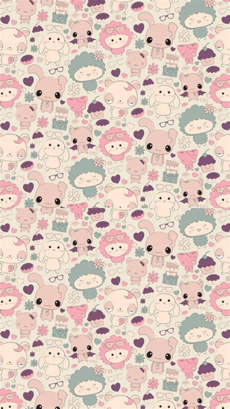kawaii background kawaii iphone wallpapers wallpaper wiki part 2