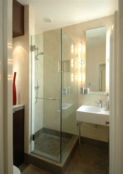 small standing shower shaker trim bathroom contemporary with small bathroom l