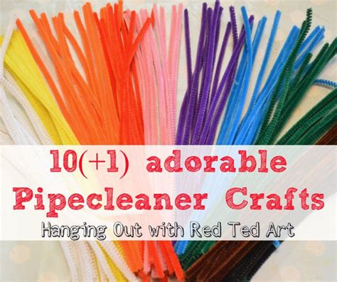 crafts ideas pipecleaner craft ideas ted s