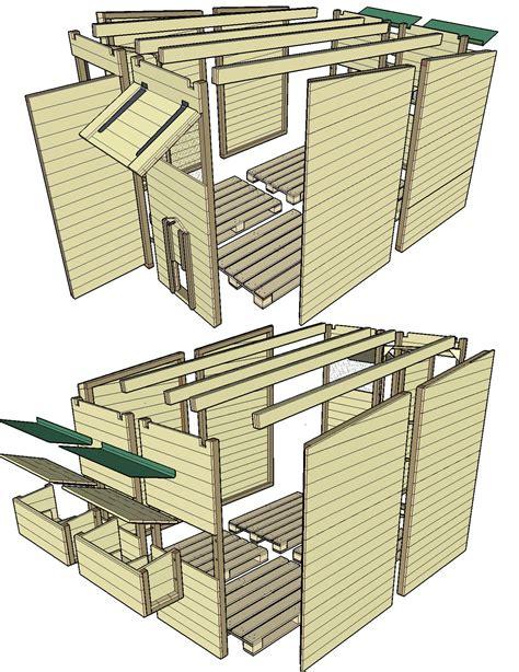 Plan De Construction D Une Cabane En Bois by Cuisine Pittoresque Plan D Une Cabane Bois Plan