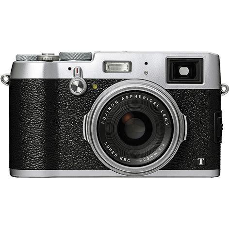 best fuji cameras fujifilm x100t digital silver fuji x100t b h