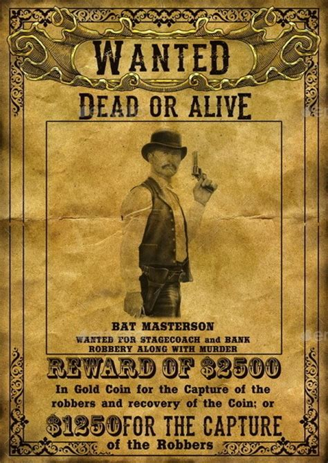 15 Best Wanted Poster Templates Psd Download Wanted Poster Psd