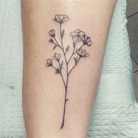 dainty flower tattoo best 25 flower tattoos ideas on dainty