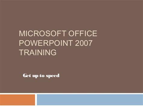 linkedin tutorial powerpoint microsoft office powerpoint 2007 training