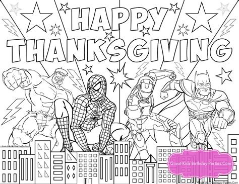 happy birthday superhero coloring pages looking for ideas for kids birthday parties