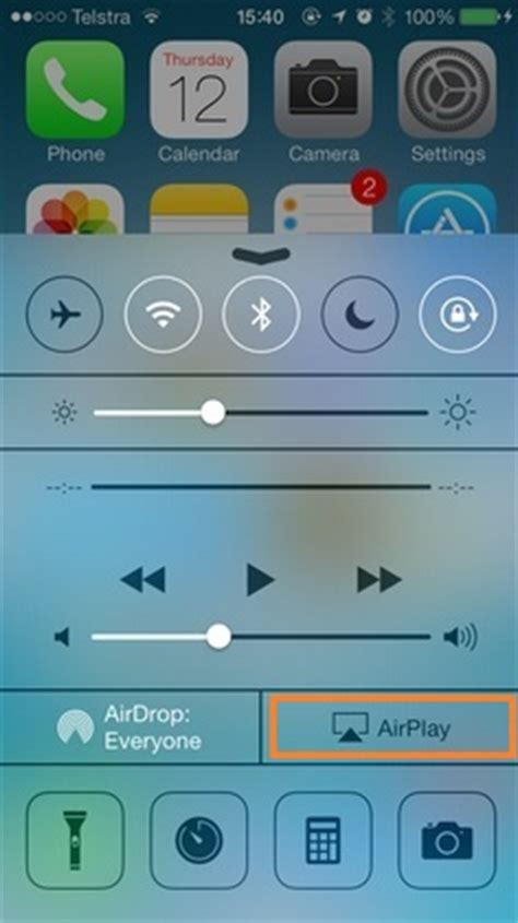 airplay icon missing  iphone    iphone