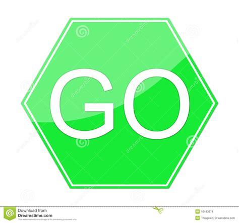 Green Go Sign Clipart Go Sign Clip Art