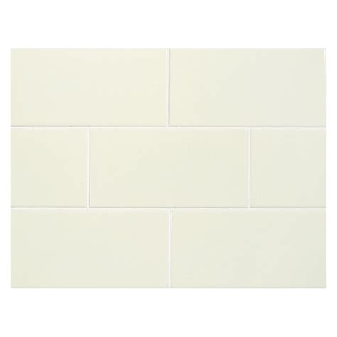 alabaster color vermeere ceramic tile alabaster gloss 3 quot x 6 quot subway tile