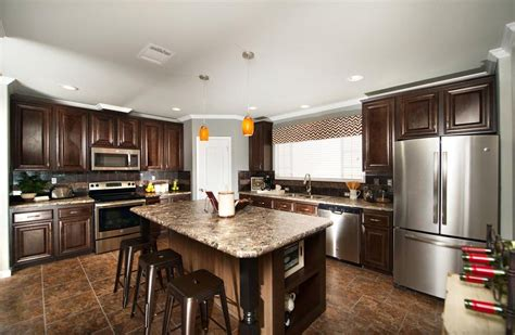 Home Floor Kitchens by The Harbor House Iii Ft28764a Manufactured Home Floor Plan