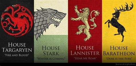 noble houses of westeros the noble houses of westeros out of character