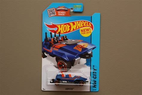 Wheels Hotwheels Loopster wheels 2015 hw city loopster blue up variation