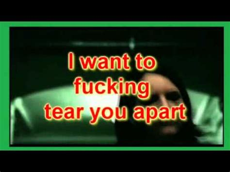 tear you appart tear you apart she wants revenge with lyrics youtube