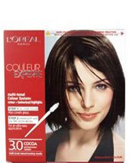 loreal ginger twist highlight placements loreal couleur experte express easy 2 in 1 color