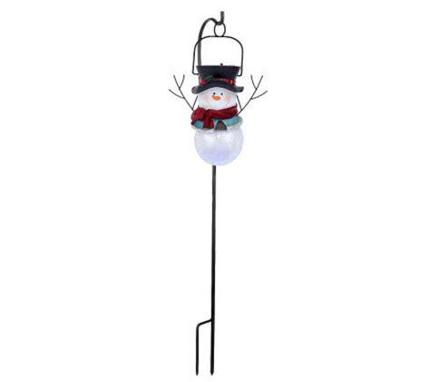 westinghouse snowman solar lights westinghouse solar crackle glass snowman on hook