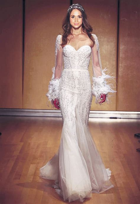 Prince Harry And Meghan Markle by Will This Be Meghan Markle S Wedding Dress Designer