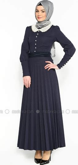 Baju Wanita Muslim Trenduy Gaul Cantik Modis Modern Hanifah Maxy koleksi daftar model baju muslim untuk wanita terpopuler 2015