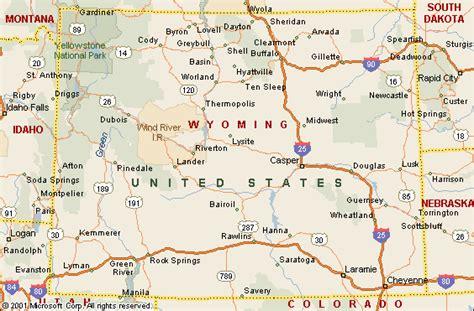 us map showing wyoming map of wyoming 100 more photos