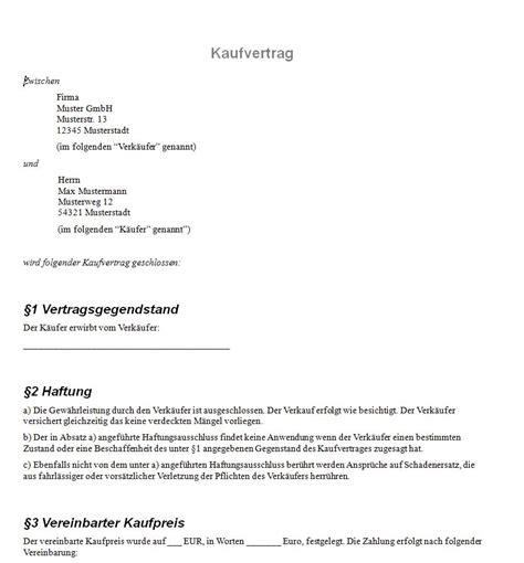 Kaufvertrag Motorrad Italienisch by Kaufvertrag Vordruck