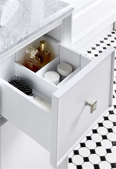 Bathroom Toiletries Storage Get Your Bathroom Toiletries In Order With Built In Storage Tailored To Your Organization Needs
