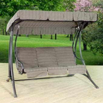 patio swing patio furniture 3 person patio swing patio swing