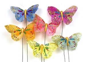 papillons de d 233 coration boite de 12 papillons d 233 coratifs