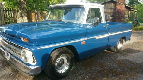 1966 chevrolet c10 bed fleetside for sale