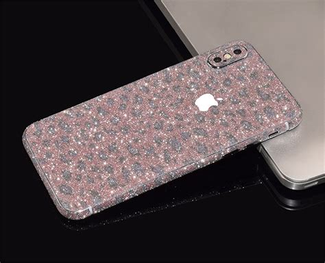 Glitter Sticker Sticker Glitter Glitter Garskin Iphone 5 5s 5se wrap decal vinyl glitter sticker skin cover for iphone x ebay