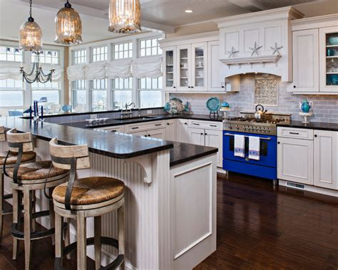 beach house kitchen designs harvey cedars beach style kitchen other metro by