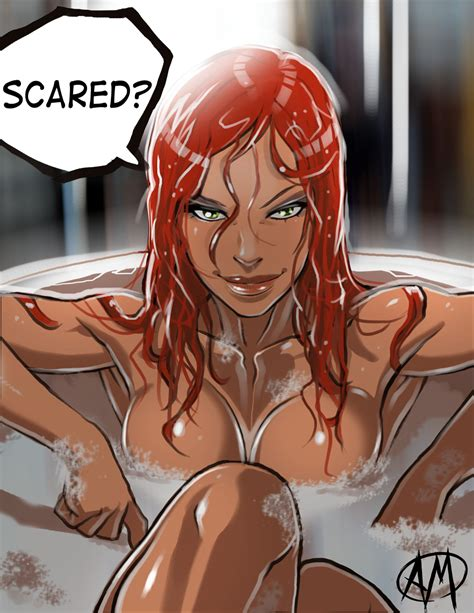 bathroom anime porn ganassa s artwork gallery miss fortune s bath