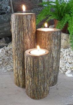 Kerzenhalter Outdoor by Branch Craft On Branches Driftwood Candle