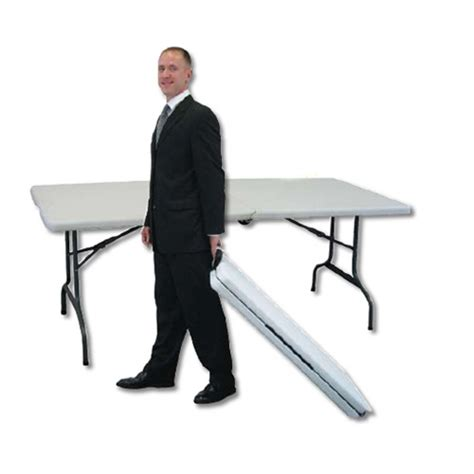 portable table with wheels showgoer 6 portable folding trade table with wheels