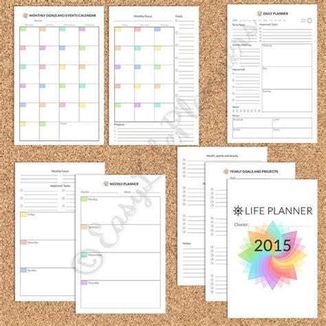 printable planner filofax 133 best images about a5 planners filofax halfsize