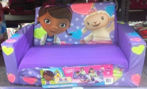 marshmallow flip open sofa with doc mcstuffins theme best