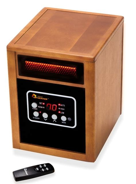 portable room heaters dr heater infrared quartz portable space heater gets 48 reduction to 129 99 shipped this week