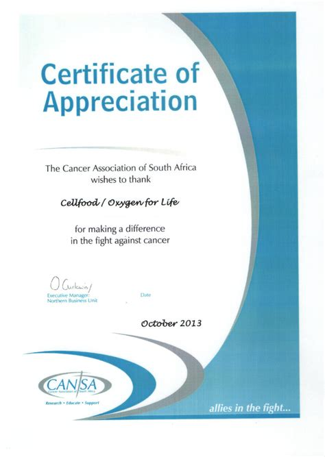 certificate of appreciation for sponsorship template oxygen for