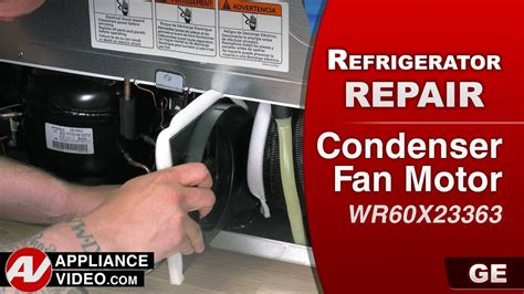 ge refrigerator evaporator fan motor replacement ge general electric refrigerator not cold enough
