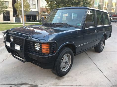 automobile air conditioning repair 1992 land rover range rover security system 1992 range rover classic excellent condition