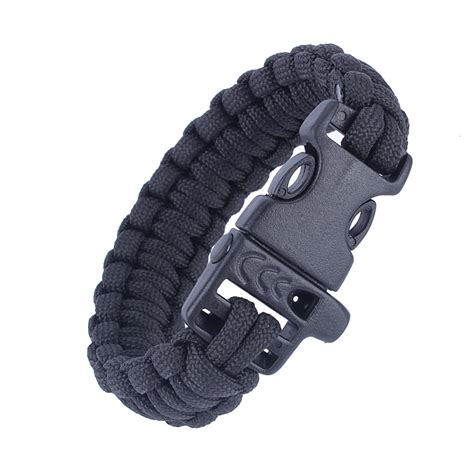 Paracord Whistle 1 tactical paracord whistle bracelet free shipping worldwide