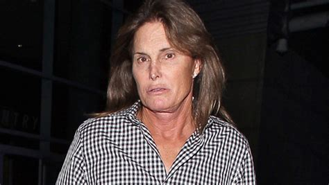 bruce jenner with long hair bruce jenner lets his long hair down for elton john