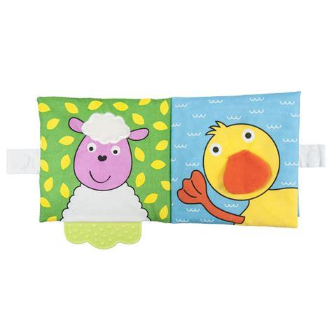 teether soft book farm galt toys